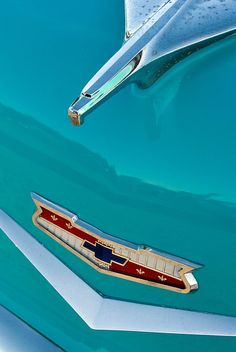 Chevy Detail by Janet Little Jeffers