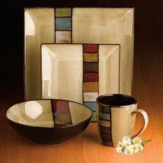 Love this dinnerware set by Jessica McClintock!
