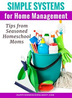 Simple Systems for Home Management: Tips from Seasoned Homeschool Moms - Home Cleaning Schedule For Working Moms Home Management, Time Management Tips, Homeschool High School, Homeschooling, Cleaning Schedule Printable, Working Mom Tips, School Schedule, Life Skills, Life Lessons