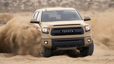 2016 TRD Pro Tundra special color will be a desert tan www.pierceytoyota.com