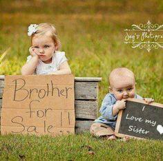So cute. Siblings pictures