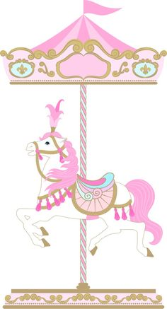 ‿✿..CIRCO..✿‿ Carousel Birthday Parties, Carousel Party, Circus Birthday, Circus Theme, Circus Party, Unicorn Birthday, Carnival Themes, Party Themes, Horse Party Decorations