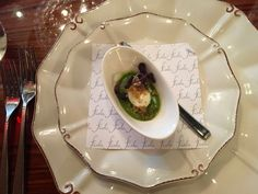 Fiola in Washington Dc. When Amuse-Bouch is so pretty it could make you cry.