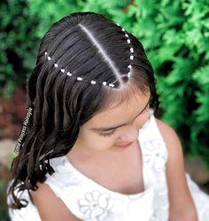 Cute Toddler Hairstyles, Cute Little Girl Hairstyles, Cute Hairstyles, Quince Hairstyles, Girl Hair Dos, Baddie Hairstyles, Aesthetic Hair, Hair Designs, Hair Looks
