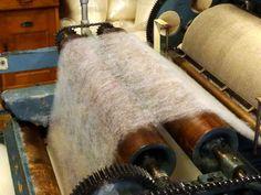 K L E U R R I J K: Bezoek aan het TextielMuseum in Tilburg : wollen dekenfabriek : assortiment