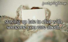 Aha this happens like every night for me ♥