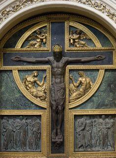 """""""Cruz en una capilla lateral de la catedral de Salamanca"""