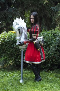 Alice: Madness Returns Cosplay by dotokoto on DeviantArt Alice Cosplay, Cosplay Diy, Halloween Cosplay, Best Cosplay, Cosplay Girls, Cosplay Costumes, Halloween Costumes, Awesome Cosplay, Alice Madness Returns