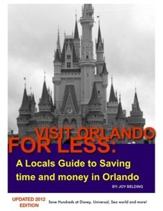Learn to save hundreds off your vacation to orlando for only $.99  eBook!