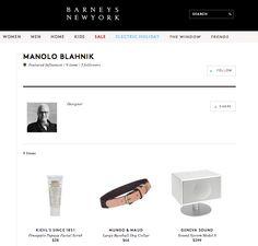 Más compras con las recomendaciones de los influencers de Barneys