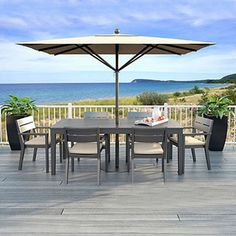 Featuring sleek lines, customizable options, and complete all-in-one packaging; the Deckorators ALX Classic Level Railing Kit can help you add security and style to your outdoor space easily. Both durable and minimal, the Railing Kit is crafted from powder-coated aluminum for a solid weight and hold throughout the changing seasons.  #railing #railkit #myrailing #railingprojects #deckorators Metal Deck Railing, Stair Railing Kits, Deck Railing Systems, Steel Railing, Baluster Spacing, Outdoor Tables, Outdoor Decor, Backyard, Patio