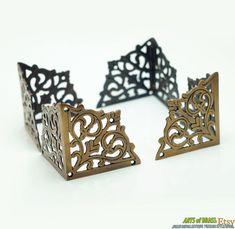 Solid Brass Decorative Corner Protectors Set Of 4 22 X
