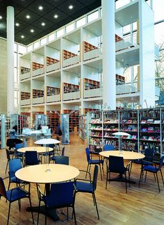 City Library Malmo - Sweden by AKABA, Motion & Emotion, via Flickr