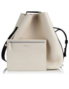 Powder Large Quill Bucket Bag