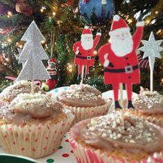 Jolly cupcake toppers - Meri Meri