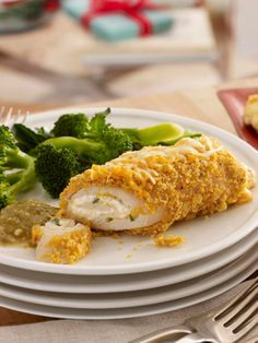 Make-Ahead Creamy Jalapeno-Stuffed Chicken — A cream cheese and jalapeno-stuffed recipe simple enough to make on the spot! Serve with steamed broccoli.
