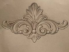 by ornamental _patterns on istagram Wood Carving Designs, Wood Carving Patterns, Filigree Tattoo, Ornament Drawing, Frame Ornament, Ornament Pattern, Stencils, Tattoo Schwarz, Engraving Art