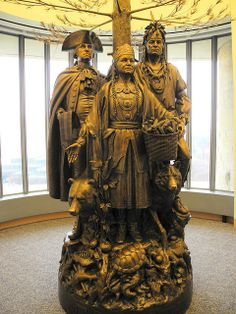 General George Washington and Oneida Nation Friendship statue at National Museum of the American Indian Washington DC by mbell1975, via Flickr