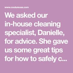 We asked our in-house cleaning specialist, Danielle, for advice. She gave us some great tips for how to safely clean worn Louis Vuitton pieces.
