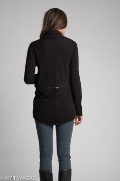 Back View - Zipped, and short