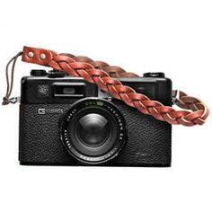 Roberu Braided Leather Camera Wrist Strap