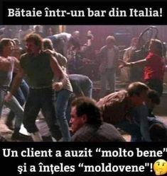 Bataie intr-un bar - Viral Pe Internet Cata, Jokes, Meme, Humor, Comics, Funny, Instagram, Internet, Drawings