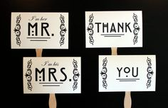 I love the idea of holding a Thank You sign and taking a picture!  Would be great for birthdays, showers, or weddings!