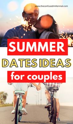 8 Unique Summer Date Ideas For Any Budget, fun summer date nights that are cheap or free for couples, best summer date night for a little adventure or a simple evening towards the end of summer, new summer date ideas for teens or those in relationships, casual summer date ideas for couples from the confused millennial Unique Date Ideas, Date Ideas For New Couples, Summer Couples, Fun Ideas, First Day Of Summer, End Of Summer, Casual Summer, Couple Activities, Teen Dating