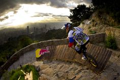 Filip Polc is the winner of Red Bull Devotos de Monserrate, one of the most important events for the scene of mountain bike downhill racing. Description from mylifeatspeed.com. I searched for this on bing.com/images