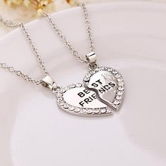Necklace+Pendant+Necklaces+Jewelry+Daily+/+Casual+/+Sports+Fashion+Alloy+Silver