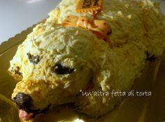 Laura ©Un'altra fetta di torta puppy dog cake, cucciolo cane, torta a forma di cane, bolo cachorro