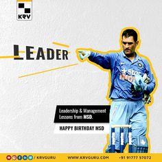 Wishing #captaincool #MSD, #happybirthday. There is a lot to learn from the #leader. So, We thought let us jot down 5 important points that we have captured.  Team Management. Keep Calm under adverse. Focus. Be Yourself. Belive in you. Never Giveup.  There is still lot of other #leadership, #entrepreneurship #management qualities, we can learn from #mahi bhai. As a #digitalmarketingagency our team is #inspired from this true human being. An #Inspiration. #dhonifan #happybirthdaydhoni Top Digital Marketing Companies, Branding Agency, Nice Tops, Entrepreneurship, Leadership, Happy Birthday, Management, Calm, Inspired