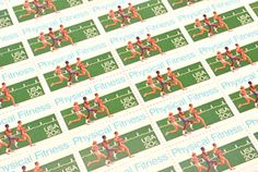 Physical Fitness Postage Stamps - 20 cents - Vintage 1983 - Unused - Quantity of 25