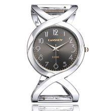 f7abaf81de83 Luxury Brand Women Dress Bangle Watches Ladies Casual Wristwatch Silver Gold  Bracelet Watch Clock Saats Relogio Feminino Ceasuri(China)