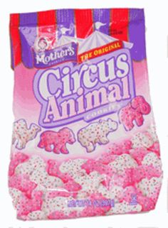 Mother's Frosted Circus Animals: Oh man, what's better than Animal Crackers? Frosted animal crackers. These were my favorite!