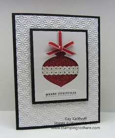 Stamping to Share: 12/2 Stampin' Up! Glimmer Windows