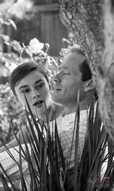 Audrey Hepburn and husband Mel Ferrer photographed by Don Ornitz at their Beverly Hills home in California, Audrey Hepburn Born, Audrey Hepburn Photos, Bette Davis, My Fair Lady, Cute Celebrities, Golden Age Of Hollywood, Vintage Movies, My Idol, Actors & Actresses