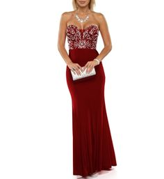 Hattie- Red Homecoming Dress from Windsor #prom #pageant