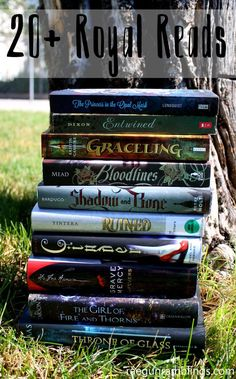 Great (most) YA reading list full of books with royalty and castle settings. SO fun!