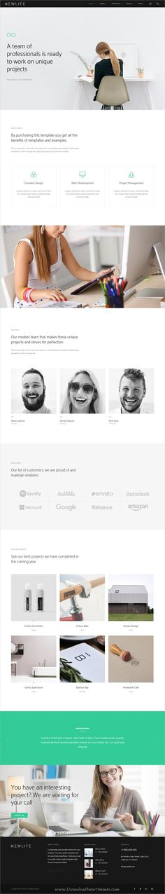 Newlife is a creative and modern design 10in1 responsive #WordPress theme for #corporate website to showcase your business, #agency, portfolio or blogging download now➩ https://themeforest.net/item/newlife-creative-corporate-wordpress-theme/19470392?ref=Datasata