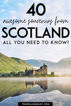 40 neat ideas for Scotland souvenirs for your next trip! Let's see what to buy in Glasgow and Edinburgh, where to buy your Scottish gifts... also on a tight budget! | #scottish #souvenirs