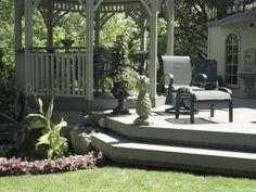 Backyard deck/gazebo