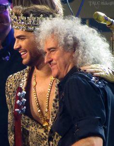 Queen + Adam Lambert Philly 12 @adamlambert @DrBrianMay