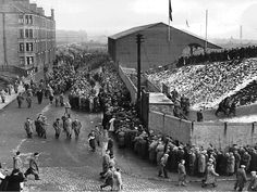 Dens park in Dundee