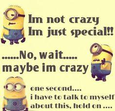 Minion Crazy vs. Special