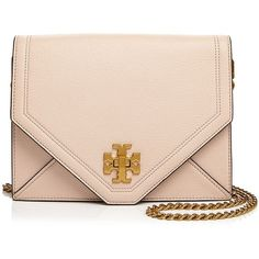 a3b056410b0 Tory Burch Kira Leather Crossbody (1,545 AED) ❤ liked on Polyvore featuring  bags, handbags, shoulder bags, tory burch handbags, tory burch purse,  leather ...