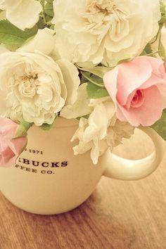 Flowers in a mug!