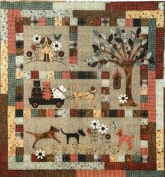 Dog Quilts | Quilt Kit A Dogs Life