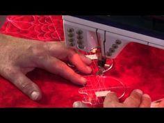 Ruler work on a Bernina Sewing Machine - YouTube