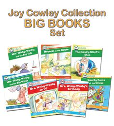 The complete set of Big Books includes 1 copy of each book title within the Joy Cowley Big Books Collection (7 big books in total).